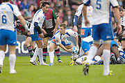 Twickenham. Great Britain,   Montpellier's, Harley CRANE, during the European Challenge Cup, match between, NEC Harlequins and Montpellier, on Sat., 28/10/2006, played at the Twickenham Stoop, England. Photo, Peter Spurrier/Intersport-images]......