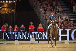 Minderhoud Hans Peter, (NED), Glock's Flirt<br /> Grand Prix Freestyle <br /> Reem Acra FEI World Cup Dressage <br /> London International Horse Show<br /> © Hippo Foto - Jon Stroud