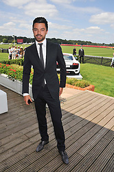 DOMINIC COOPER at the Audi International Polo Day held at Guards Polo Club, Smith's Lawn, Windsor on 22nd July 2012.