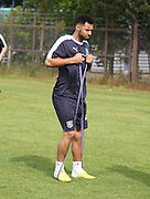 Dundee new boy Kane Hemmings - Dundee pre-season training at University grounds, Riverside<br /> <br />  - &copy; David Young - www.davidyoungphoto.co.uk - email: davidyoungphoto@gmail.com