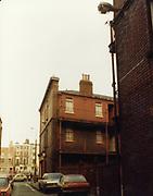 December 1983 amateur photos of Old Dublin WITH Store St Doorway, Shops, Crampton Building, Healys Shop, Fleet St, Lamp Bracket, Townsend St School, D'Olier St, Molesworth St, Tara St Baths and Fire Station, Mulligans Poolbeg St, Wellington Quay,