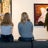 Paula Rego PV & install @ The Jerwood Gallery