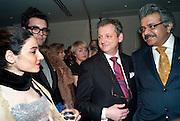 BENJAMIN SKINNER; STEFAN MIELE; TALINE TEMIZIAN; OMAR, Stephane St. Jaymes Spring Summer 2011 fashion show.<br /> The Westbury Mayfair, Bond Street, London,DO NOT ARCHIVE-© Copyright Photograph by Dafydd Jones. 248 Clapham Rd. London SW9 0PZ. Tel 0207 820 0771. www.dafjones.com.