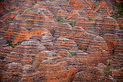 Close up of the beehive formations at the Bungle Bungles (Purnululu National Park).