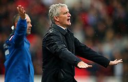 Stoke City manager Mark Hughes gestures - Mandatory by-line: Matt McNulty/JMP - 30/09/2017 - FOOTBALL - Bet365 Stadium - Stoke-on-Trent, England - Stoke City v Southampton - Premier League