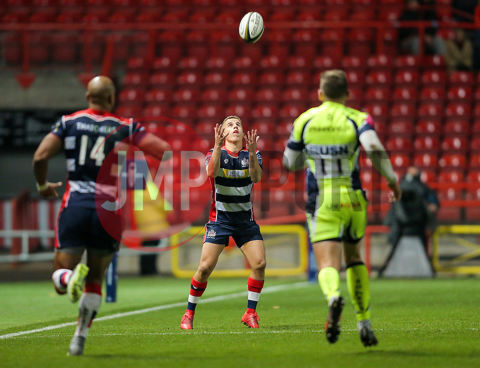 Billy Searle of Bristol Rugby - Rogan Thomson/JMP - 11/11/2016 - RUGBY UNION - Ashton Gate Stadium - Bristol, England - Bristol Rugby v Sale Sharks - Anglo Welsh Cup.