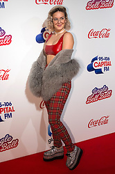 © Licensed to London News Pictures. 03/12/2016. ANN-MARIE attends Capital's Jingle Bell Ball with Coca-Cola at London's O2 Arena London, UK. Photo credit: Ray Tang/LNP