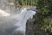 USA, Idaho, Upper Mesa Falls, Snake River, Henry's Fork
