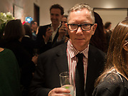 DAVID JENKINS, Launch of 'Taste: The Secret Meaning of Things' by Stephen Bayley, Christies. King St. 16 October 2017