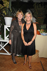 Left to right, SUE CREWE editor of House & Garden and CLAIRE GERMAN publisher of House & Garden at a party to celebrate the 60th anniversary of House & Garden magazine held at Bonhams, 101 New Bond Street, London on 4th October 2007.<br /><br />NON EXCLUSIVE - WORLD RIGHTS
