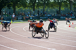 , NED, 400m, T53, 2013 IPC Athletics World Championships, Lyon, France