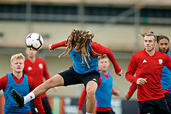 WREXHAM, WALES - Wednesday, June 5, 2019: Wales' Ethan Ampadu during a training session at Colliers Park ahead of the UEFA Euro 2020 Qualifying Group E match between Croatia and Wales. (Pic by David Rawcliffe/Propaganda)