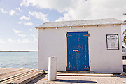 Tiny art gallery along the waterfront in Dunmore Town, Harbour Island, The Bahamas