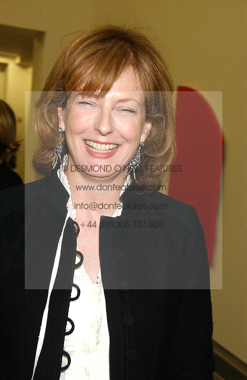 JULIA PEYTON-JONES at an exhibition of leading artist Ellsworth Kelly at the Serpentine Gallery, Kensington Gardens, London followed by a dinner at the Riverside Cafe, London on 17th March 2006.<br /><br />NON EXCLUSIVE - WORLD RIGHTS