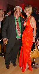 Chef ANTONIO CARLUCCIO and CYNTHIA CONRAN at the annual Laurent Perrier Pink Party held at The Sanderson Hotel, Berners Street, London on 27th April 2005.<br /><br />NON EXCLUSIVE - WORLD RIGHTS