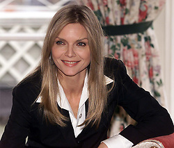 Michelle Pfeiffer, Dorchester Hotel, London..Photocall for Warner Bros new film 'The Story of Us', staring Michelle Pfeiffer, February 24, 2000. Photo by Andrew Parsons / i-images..