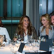 NLD/Amsterdam/20130916 -  Modeshow Jos Raak in het Conservatorium hotel, Leontien Borsato, Quinty Trustfull, Froukje de Both, Jos Raak