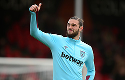 Andy Carroll of West Ham United - Mandatory by-line: Alex James/JMP - 11/03/2017 - FOOTBALL - Vitality Stadium - Bournemouth, England - Bournemouth v West Ham United - Premier League