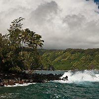 Keanae Peninsula, on the road to Hana, Maui.