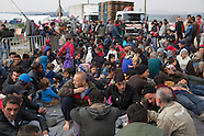 Refugees stuck in Idomeni, 22.03.16