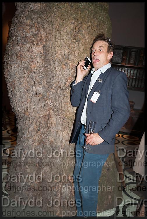 TOM JOHN at the preview of LAPADA Art and Antiques Fair. Berkeley Sq. London. 23 September 2014.