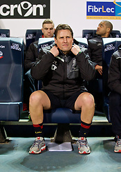 BOLTON, ENGLAND - Wednesday, February 4, 2015: Liverpool's assistant manager Colin Pascoe before the FA Cup 4th Round Replay match against Bolton Wanderers at the Reebok Stadium. (Pic by David Rawcliffe/Propaganda)