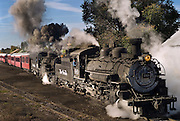 Cumbres and Toletec Scenic Railroad, New Mexico, USA