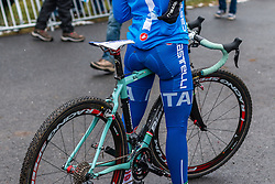 Bianchi of Chiara Teocchi (ITA)Women Elite, Cyclo-cross World Championships Tabor, Czech Republic, 31 January 2015, Photo by Pim Nijland / PelotonPhotos.com