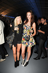 ALEXANDRA SPENCER and TABITHA HALL  at a party to celebrate the launch of Bang a new male fragrance by Marc Jacobs held at the Fith Floor Restaurant, Harvey Nichols, Knightsbridge, London on 22nd July 2010.