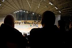 Fans at Open training session for the public of Slovenian handball National Men team before European Championships Austria 2010, on December 27, 2009, in Terme Olimia, Podcetrtek, Slovenia.  (Photo by Vid Ponikvar / Sportida)