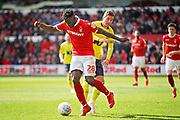 Nottingham Forest's Pele (28)  controls the ball during the EFL Sky Bet Championship match between Nottingham Forest and Blackburn Rovers at the City Ground, Nottingham, England on 13 April 2019.