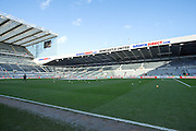 St James' Park ahead of the EFL Sky Bet Championship match between Newcastle United and Derby County at St. James's Park, Newcastle, England on 4 February 2017. Photo by Craig Doyle.