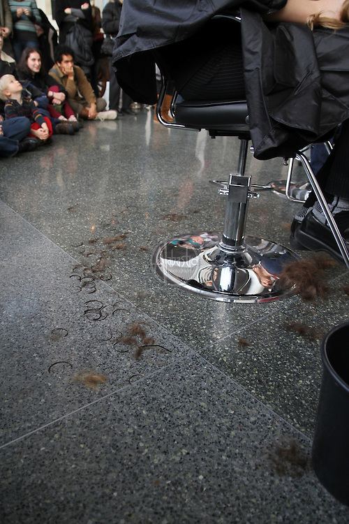 """Seattle Opera hosts the """"Barber of Seattle"""" hairstyle and makeover competition at McCaw Hall on January 8, 2011."""