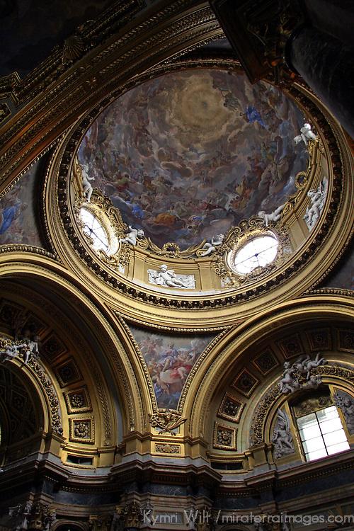 Europe, Spain, Madrid. Royal Chapel of the Palacio Real, Madrid.