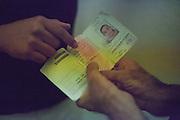 198 / Zentrale Aufnahmestelle fuer Asylbewerber_Innen in Eisenhuettenstadt: EUROPA, DEUTSCHLAND, BRANDENBURG, EISENHUETTENSTADT, 25.08.2011: Die Zentrale Aufnahmestelle fuer Asylbewerber_Innen in Eisenhuettenstadt. Eisenhuettenstadt liegt im 30 km breiten Grenzstreifen zu Polen, in dem der Bundesgrenzschutz besondere Kontrollbefugnisse hat. Menschen ohne Papiere, die dort vom BGS aufgegriffen werden oder im Land Brandenburg Asyl beantragen, gelangen fuer bis zu zwoelf Wochen in die ZASt. Von dort werden sie in ein anderes AsylbewerberInnenheim Brandenburgs weiterverteilt. Die ZASt beherbergt bis zu 650 AsylbewerberInnen, die durchschnittliche Aufenthaltsdauer betraegt 51 Tage.  - Marco del Pra / imagetrust - Stichworte: Ankunft, Asyl, Asylbewerber, Asylbewerberheim, AsylbewerberInnen, Asylsuchend, Asylsuchende, Asylsuchenden, Audiotechnik, Aufenthalt, Aufenthaltsdauer, Ausland, Baracke, Baracken, BGS, Bildung, Bildungsangebot, Bildungsangebote, Brandenburg, Bundesgrenzschutz, Chu Eben, Computer, Computern, Deutschkurse, Einsamkeit, Eisenhuettenstadt, Eroeffnung, Festung Europa, Fluechtling, Fluechtlinge, Fluechtlingsprojekt, Fremd, Gefaengniss, Gemeinschaftsunterkuenft, Grenze, Grenzen, Heim, Information, Internet, Internetcafe, Isolation, Isolationsmechanismen, Isolationsmechanismus, kostenlos, Lager, Lebensqualitaet, Luckenwalde, Menschen ohne Papiere, migrant, Migranten, migration, Model Release:No, Pflicht, Polen, Potsdam-Schlaatz, Prenzlau, Projekt, Property Release:No, Radio, Rathenow, Recht, Recht auf Information, Rechte, Refugees Emancipation, Refugees Emancipation e.V., Residenz, Residenzpflicht, selbstorganisiert, Spenden, Stichwort, Verein, Zast, Zentrale Aufnahmestelle fuer Asylbewerber_Innen, Zugang