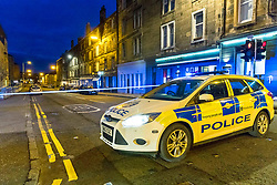 A suspicious device has been reported at a bus stop on Newhaven Road in Edinburgh. At the moment there is a cordon in place and police are thanking the public for their co-operation.