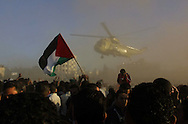 The arrival & burial of Yasser Arafat at the Muqatta in Ramalla