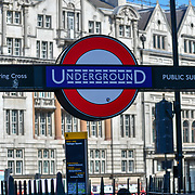 Charing Cross Underground on 27 June 2019, London, UK