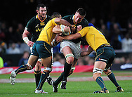 Bakkies Botha from South Africa during the Tri Nations Test match between South Africa and Australia at the Kingspark Stadium in Durban on 13 Aug 2011..© Gerhard Steenkamp/Superimage