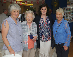 Pictured at the Louisburgh Twinning event last week, Mairead and Breege Staunton, Fionnula Murphy and Kay Walker.<br /> Pic Conor McKeown