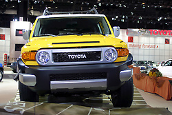 09 February 2006:  2007 Toyota FJ Cruiser.....Chicago Automobile Trade Association, Chicago Auto Show, McCormick Place, Chicago IL