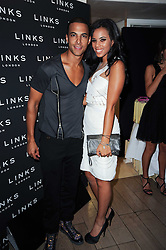 MARVIN HUMES from JLS and ROCHELLE WISEMAN from the Saturdays at a party hosted by Links of London in celebration of Cat DeeleyÕs role as global brand ambassador of Links of London and to launch the AW10 campaign held at The Club at The Ivy (The Loft), 9 West Street, WC2 on 16th September 2010.<br /> MARVIN HUMES from JLS and ROCHELLE WISEMAN from the Saturdays at a party hosted by Links of London in celebration of Cat Deeley's role as global brand ambassador of Links of London and to launch the AW10 campaign held at The Club at The Ivy (The Loft), 9 West Street, WC2 on 16th September 2010.