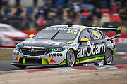 20th May 2018, Winton Motor Raceway, Victoria, Australia; Winton Supercars Supersprint Motor Racing; Craig Lowndes drives the number 888 Triple Eight Race Engineering Holden Commodore ZB during race 14 of the 2018 Supercars Championship