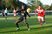 Dundee&rsquo;s Glen Kamara and Brechin's Callum Tapping- Brechin City v Dundee pre-season friendly at Glebe Park, Brechin, <br /> <br /> <br />  - &copy; David Young - www.davidyoungphoto.co.uk - email: davidyoungphoto@gmail.com