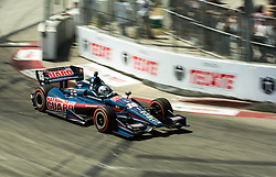 Graham Rahal turn 6 LBGP 2014