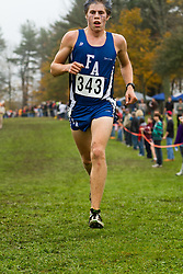 2012 High School Western Maine Regional Cross Country Championships, Class B Boys race , Silas Eastman