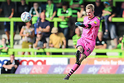 Forest Green Rovers goalkeeper Lewis Thomas(24) during the EFL Sky Bet League 2 match between Forest Green Rovers and Colchester United at the New Lawn, Forest Green, United Kingdom on 14 September 2019.
