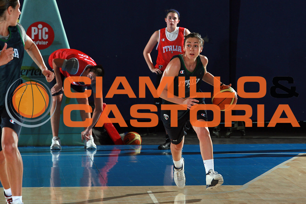 DESCRIZIONE : Bormio Raduno Nazionale Italiana Femminile<br /> GIOCATORE : Licia Corradini<br /> SQUADRA : Nazionale Italia Donne<br /> EVENTO : Raduno Nazionale Italiana Femminile<br /> GARA : <br /> DATA : 11/07/2008 <br /> CATEGORIA : Riscaldamento<br /> SPORT : Pallacanestro <br /> AUTORE : Agenzia Ciamillo-Castoria/S.Ceretti<br /> Galleria: Fip Nazionali 2008<br /> Fotonotizia: Bormio Raduno Nazionale Italia Donne<br /> Predefinita: