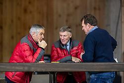 Keurinscommissie springen, Tim Van Tricht, Hermand Van den Broeck, Kris Keersmaeckers<br /> BWP Hengsten Keuring - Lier 2020<br /> © Hippo Foto - Dirk Caremans<br /> 16/01/2020
