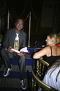 Julian Clary and Barb Jungr, Book launch for Julian Clary's ' Murder Most Fab ',Simon Drake's House of Magic 9 Chapter Road, Kennington SE17. 14 August 2007.  -DO NOT ARCHIVE-© Copyright Photograph by Dafydd Jones. 248 Clapham Rd. London SW9 0PZ. Tel 0207 820 0771. www.dafjones.com.
